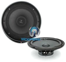 """FOCAL IS-8 8"""" INTEGRATION SOUND QUALITY MIDRANGE MIDBASS SPEAKERS W/ GRILLS"""