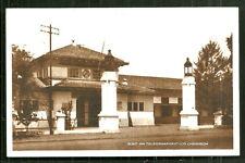 Cheribon rppc Post Telegraph Office Java Indonesia 30s