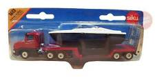 SIKU Low Loader with Boat Die-cast Toy Car BRAND NEW