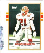 DEION SANDERS 1989 TOPPS Rookie Card-#30T Cowboys, 49ers, Falcons-N-Mint-MINT