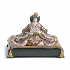 Lladro High Porcelain  Hina Dolls - Empress Sculpture. Limited Edition 01001939