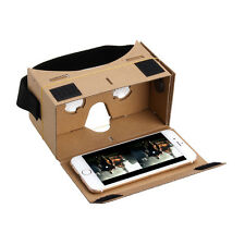 Google Cardboard VR Virtual Reality 3D Glasses For iPhone Android Samsung LG【US】