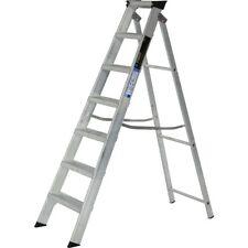 aluminium step ladder. Aluminium Step Ladder Class 1 Folding Industrial Trade Youngman Heavy Duty Steps