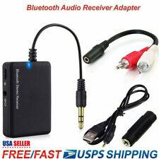 Bluetooth Wireless Audio Receiver Stereo Music Adapter For Speaker Gifts
