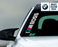BMW Performance I'M BOSS Side Windshield Decal windows sticker graphic