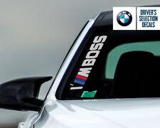 BMW Performance I'M BOSS Side Windshield Decal windows sticker graphic