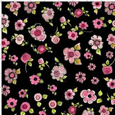 Loralie Designs Love Your Look Parlor Posies Fabric Cotton Sold By The Yard