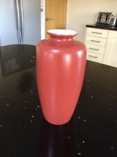 Vintage Royal Winton Burnt Red Vase - Colour Roll