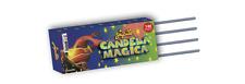 140 CANDELE CANDELINE MAGICHE STELLE MAGICHE 16 CM PARTY COMPLEANNI EFFETTO ORO