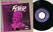 """PEGGY LEE 45 TOURS 7"""" FRANCE LISTEN TO THE ROCKIN' BIRD"""