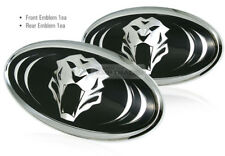 Tigris 3D effect Logo Grille Trunk Emblem Badge 2Pcs For KIA 15-16 Sorento UM