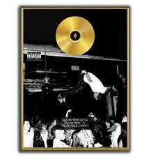 Playboi Carti Poster, Die lit GOLD/PLATINIUM CD, gerahmtes Poster HipHop Rap