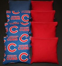 Cornhole Bean Bags made w Chicago Cubs Fabric Aca Regulation Toss T Game Bags