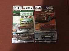 Autoworld (4)Car &Trucks Lot of 1/64 Scale Diecast