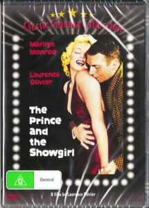 The Prince and The Showgirl Marilyn Munroe DVD Brand New Australian Release