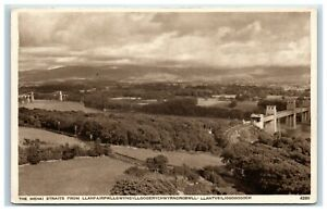 Postcard The Menai Straits from Llanfair