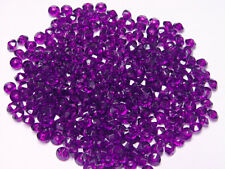 Dark Amethyst 6mm Rondelle faceted spacer beads 1000pc made in USA