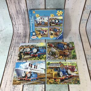 Thomas The Tank And Friends Jigsaw-4 Puzzles In 1-Ravensburger-100% Complete