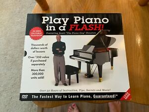 """Play Piano in a Flash Featuring Scott  """"The Piano Guy"""" Houston,  22hrs"""