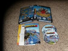 Sim City 4 Deluxe Edition (PC, 2005) Near Mint Game with box, manual & key