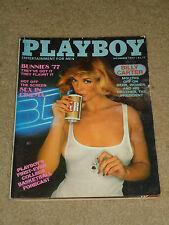 """Vintage Playboy Magazine November 1977 """"Cover: Susan Kiger"""" SNY,ES"""
