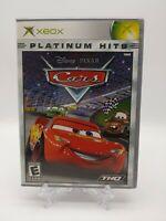 Disney Pixar Cars Xbox Platinum Hits complete in box