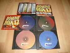 BOLERO MIX 17 MUSIC CD CON CUATRO DISCOS USADO EN BUEN ESTADO