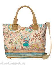 Oilily Caramel Summer Blossom Shopping Tote Bag NEW
