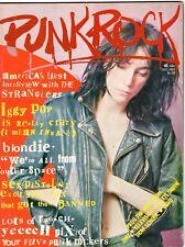 PUNK ROCK #1 Dec 1977 PATTI SMITH Iggy Pop SEX PISTOLS Blondie STRANGLERS Devo +