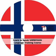 Learn to Speak NORWEGIAN Language Training Course - MP3 Audio + PDF Text on CD