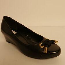 Ladies' Wedge Shoes Lotus Tamarind Black Court Shoes New RRP £44.99
