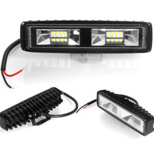 48W 16 LED 6000k Work Light Flood Beam Bar Car SUV Driving Fog Aluminum Lamps