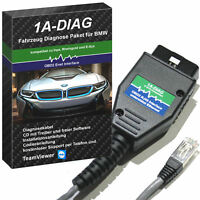 Ethernet Diagnose Interface für BMW F-Modelle komp. Rheingold, E-SYS + Software