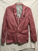 Men's pink/salmon express blazer