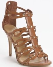 IVANKA TRUMP AUTH Women's Brown Leather Mallorie Gladiator Sandals Size 7