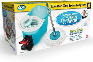 Hurricane Spin Mop,Floor Mop with Bucket Hardwood Floor Cleaner
