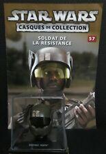 "Casque de collection Star Wars n°57 ""Resistance Trooper"" (Edition Altaya) (GW)"