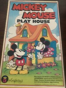 Colorforms Mickey Mouse Play House toy Disney Minnie Mouse