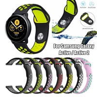 Silicone Watch Band For Samsung Galaxy Watch Active 2 42mm Bracelet Strap 20mm