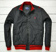 POLO by RALPH LAUREN Mens Jacket Casual Outdoor Bomber Coat Black Size Large