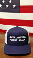 100% Made In USA Trump Make America Great Again Hat MAGA Structured Hi Crown USA