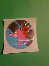 vtg 80's sandylion prism ballet teddy bear sticker *restored*(free ship $20 min)