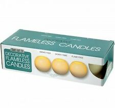 Flameless Round Candles