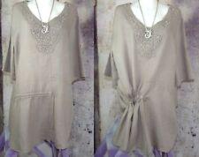 Umstands-Blusen, - Tops & -Shirts im Tunika-Stil mit M