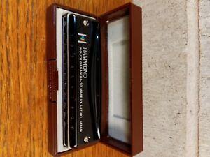 Suzuki Harmonica Promaster Hammond HA-20 Professional 10-Hole Diatonic japan new