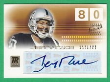 2002 Topps Reserve JERRY RICE AUTOGRAPH (HOF) Raiders