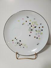 Vintage MCM Laurel China Snack Plate Frolic Design