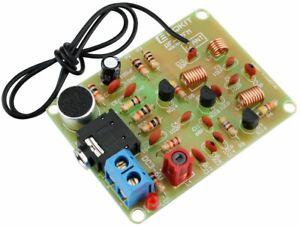 FM Transmitter Module Electronic DIY Kit Frequency Wireless Microphone RF-02FM