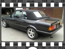 BMW E30 Cabrio Stoff-Verdeck Neu! Sonnenlandstoff in Schwarz! TOP QUALITÄT!