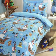 MAR Pirates Conjunto De Funda Nórdica Individual Ropa de cama reversible